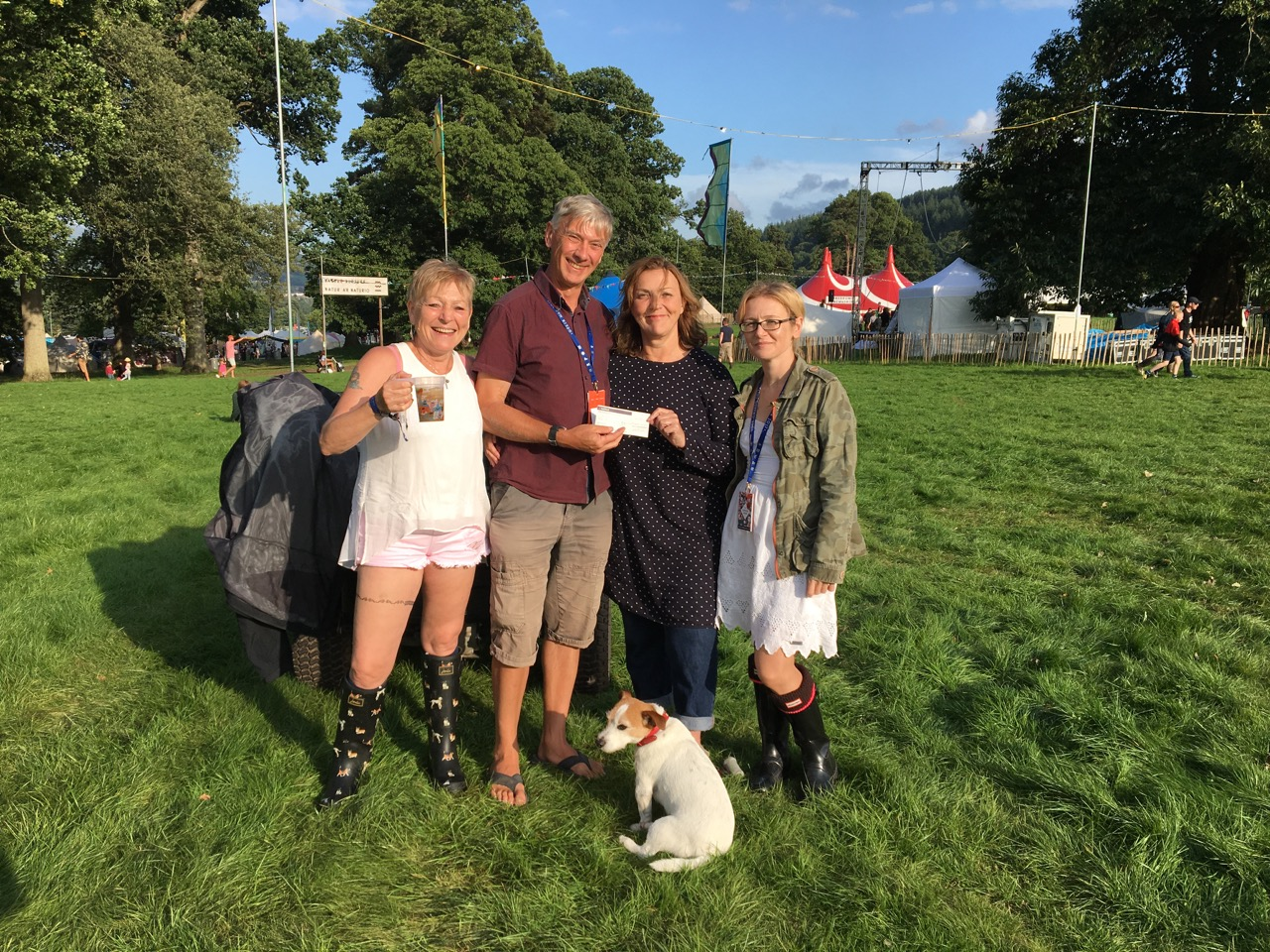 Green Man Trust Welcomes First Patrons